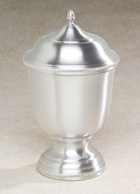 Astor Metal Cremation Vase