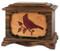 Cardinal Cremation Urn - Walnut Wood