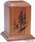 Vertical Series Laser Engraved Keepsake Urn