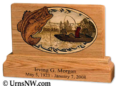 Keepsake Urn - Boat Fishing