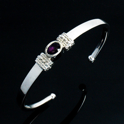 Simple Birthstone Cremation Bracelet