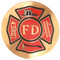 Urn Medallion: Fire Department
