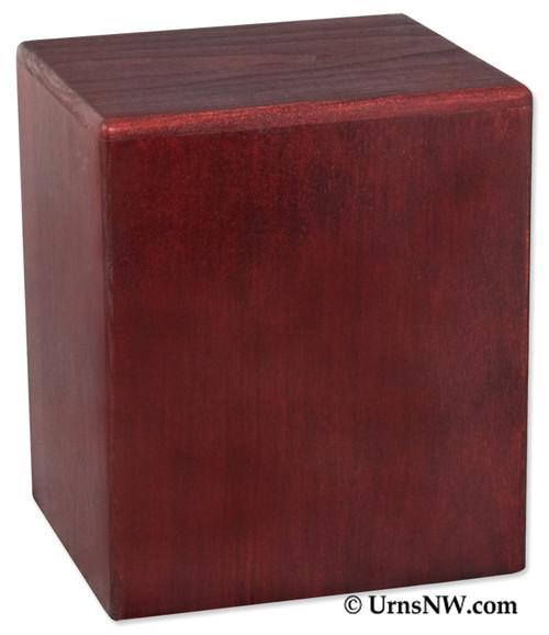 Madison Budget Urn - Rosewood