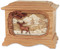 Ambassador Deer Urn in Oak - Whitetail Deer