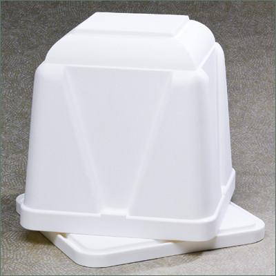 Vantage Standard Burial Vault - White