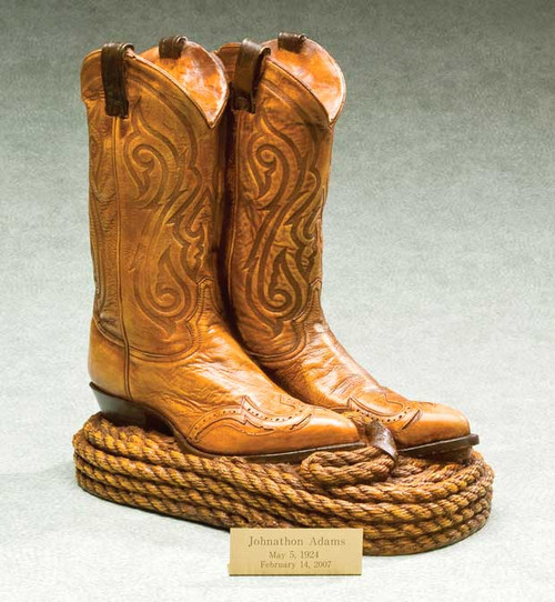 Cowboy Boot Urn   Specialty Urns