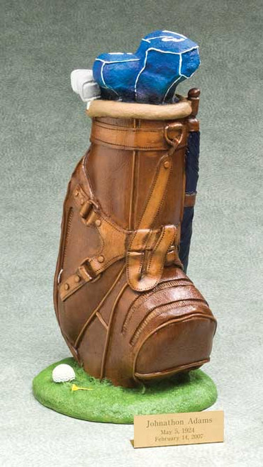 Golf Urn | Golfer Urn | Golf Bag Urn