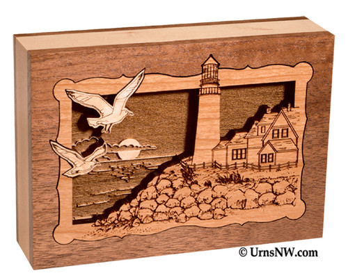Lighthouse Keepsake Urn | Lighthouse Memorial Urns