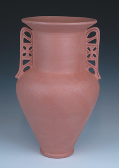 Greek Pithos Cremation Urn in Red | Grecian Urns