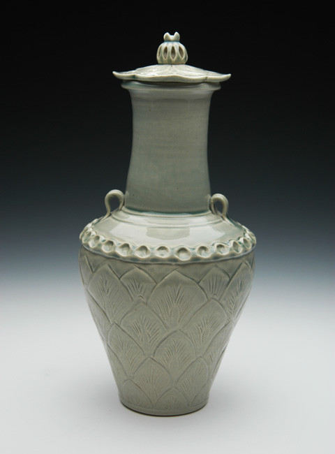 Lotus Cremation Urn | Ceramic Funeral Urns