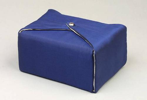 Silk Fabric Cremation Urn in Dark Blue | Silk Urns