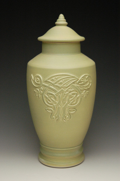 Celtic Dragon Cremation Urn