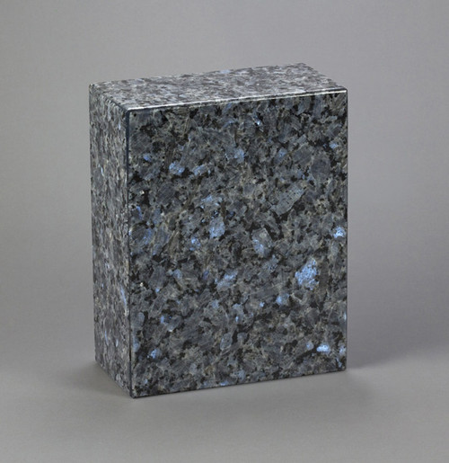 AEternitas Marble Urn in Blue Pearl