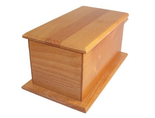 Alder Wood Urn   Inexpensive Urns