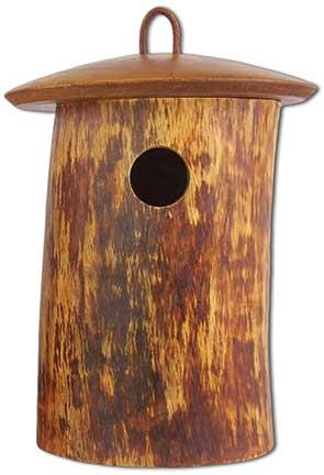 Birdhouse Scattering Urn Natural Birdsong | Front