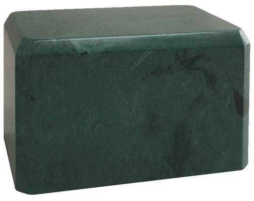 Cultured Marble Urn - Evergreen