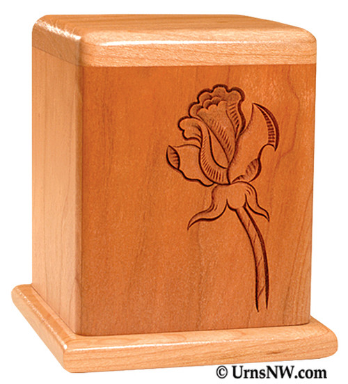 Rose Cherry Keepsake Urn