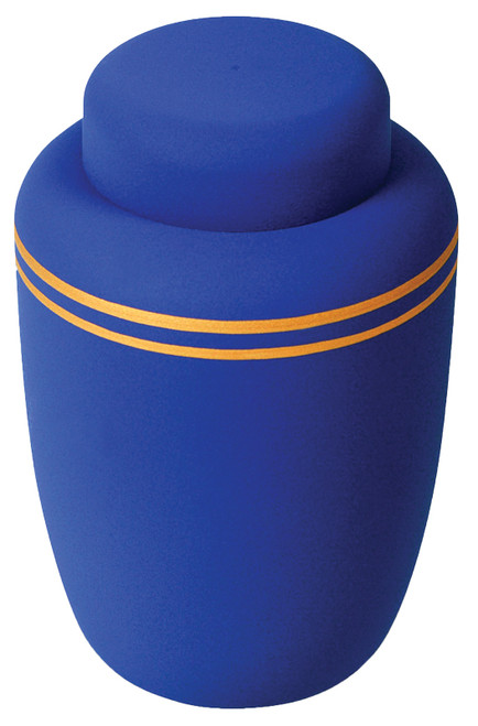 Biodegradable Cornstarch Urn - Navy Blue