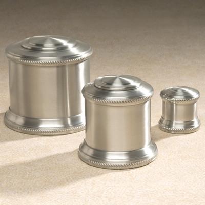 Columnade Spun Pewter Cremation Urn