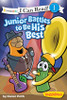 Veggietales I Can Read Book Junior Battles to Be His Best Level 1