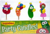 Veggietales Character Party Candles