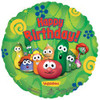 "VeggieTales Happy Birthday  18"" Mylar Balloon"