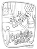Veggietales -good night jr. Coloring page