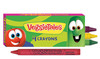 Veggietales Crayon Pack (1 Single pack with 4 crayons )