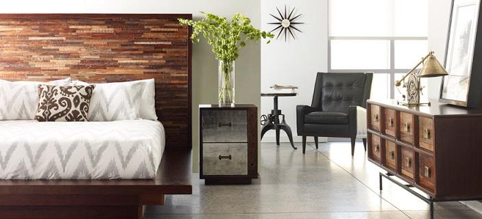 Solid Wood Platform Beds   Eclectic Reclaimed Wood Platform Bed Frames ...