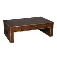 Cognac Flip Coffee Table