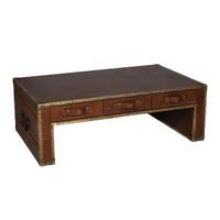 Cognac Flip Coffee Table