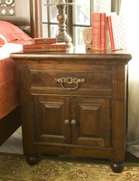 Augustine 1 Drawer 2 Door Nightstand