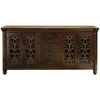 Augustine 4 Drawer 4 Door Buffet