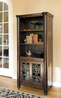 Augustine 1 Door Bookcase