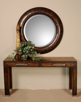 Leonzio Round Mirror