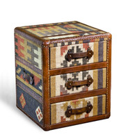 Balsam Kilim Leather Chest