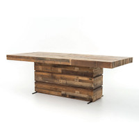 Angora Tahoe Dining Room Table 89""
