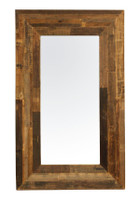 Angora Reclaimed Wood Tall Floor Mirror