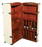 Adira Trunk Bar Cabinet