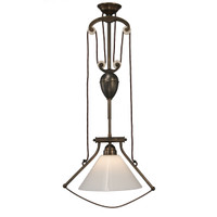 Industrial Bell Frame 1 Light-Aged Brass