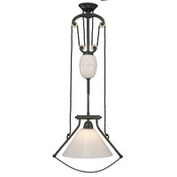 Industrial Bell Frame 1 Light-Black Iron