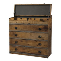 Steamer Trunk Dresser