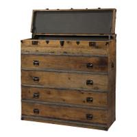 Steamer Trunk Dresser
