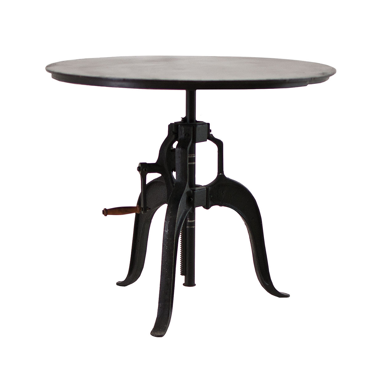 Adjustable Height Crank Dining Table 36 Quot Zin Home