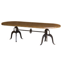Crank  Dining Table 104&quot;