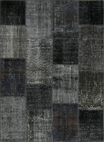 Turkish Patchwork Rugs- After Dark