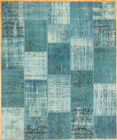 Turkish Patchwork Rugs- Capri Breeze