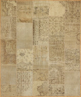 Turkish Patchwork Rugs- Neutral
