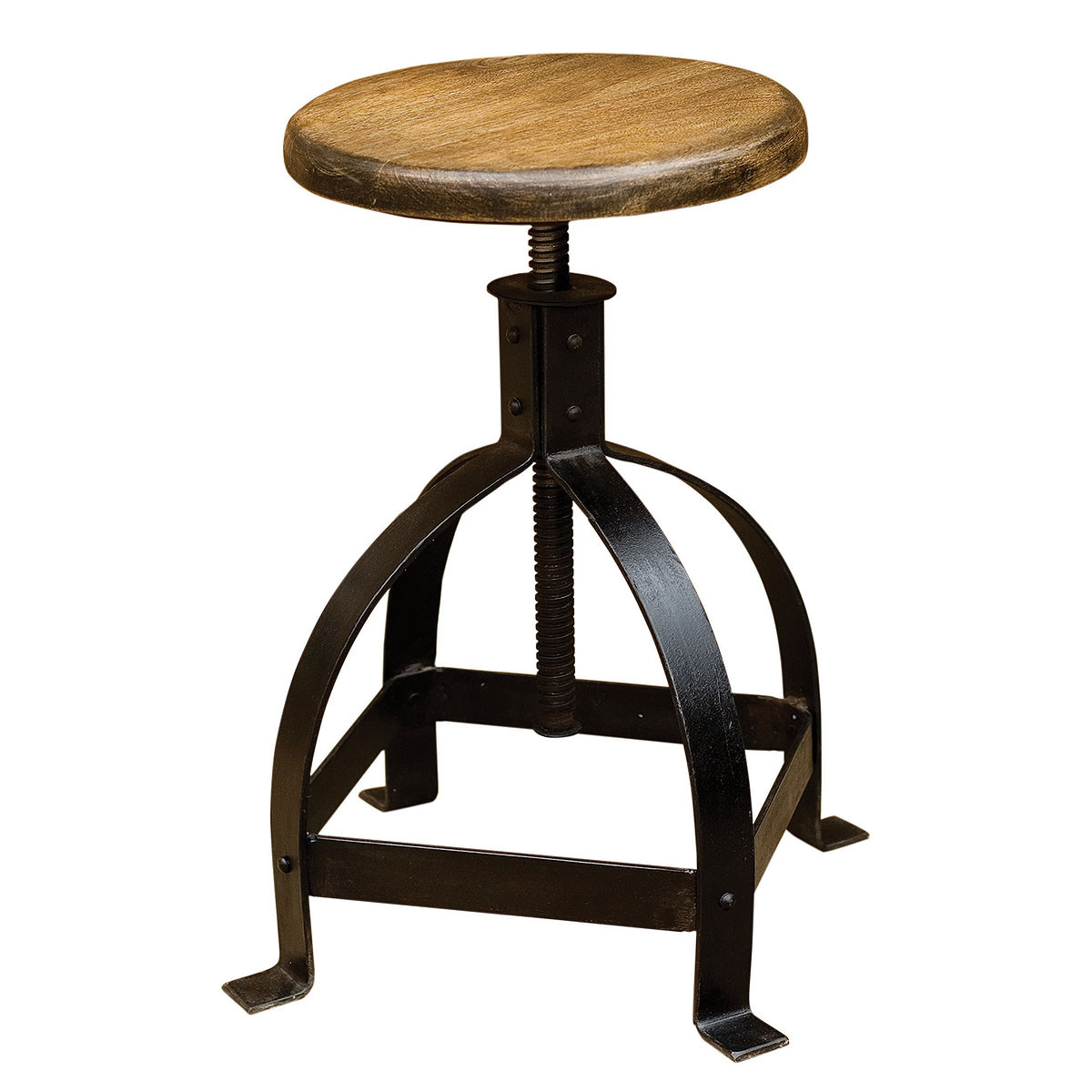 home furniture dining room industrial adjustable cage stool