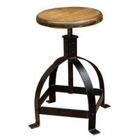 Industrial Adjustable Cage Stool